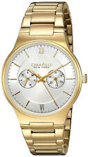 Caravelle New York 44A109 Gents GP Stainless Steel Multi Dial 3 Yr Guar RRP £129