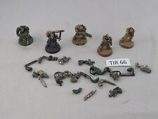 WARHAMMER 40k SPACE MARINES 5 SCOUTS arms partially magnetized (TIR 66)