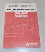 Workshop Manual Mitsubishi Galant Sapporo Body from Year 1981