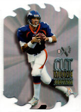 1997 SkyBox E-X2000 Insert JOHN ELWAY Die-Cut A CUT ABOVE Stanford BRONCOS #8