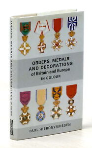 Paul Hieronymussen - Orders medals and decorations of Britain and Europe - 1975