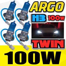 H3 100W SUPER WHITE 453 FOG SPOT LIGHT BULBS XENON 12V HID TOYOTA SUPRA