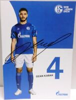 Ozan Kabak + Autogrammkarte 2019/2020 + FC Schalke 04 + AK2019140 +
