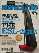 Stereophile August 2017 Quad Electrostatic Speaker The ESL 2912 FREE SHIPPING SB