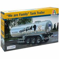 ITALERI We Are Family Tank Trailer 3911 1:24 Trucks Model Kit