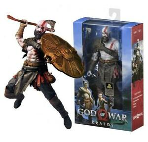 "God of War 2018 Kratos 7"" Action Figure Video Game  21"