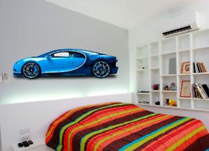 Super Hyper Cars Wall Stickers Decal Transfer Bedroom Vinyl Kids Boys Girls art