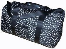 PAUL SMITH BLACK / WHITE ANTS PRINT HOLDALL LIGHTWEIGHT FABRIC BAG VERY RARE NEW