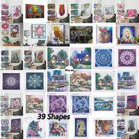 Special Shaped Diamond Painting 5D Partial Drill Cross Stitch Kit Crystal NEW