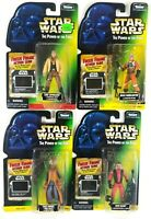 Star Wars Kenner POTF Freeze Frame Nien, Saelt Marae, Luke, Biggs 1997 Sealed