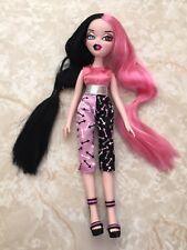 Bratzillaz Doll Cloetta Spelletta Glam Gets Wicked Pink Black Hair Blue Brown