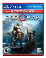 God of War (Playstation 4) BRAND NEW FACTORY SEALED Free Shipping PS4 Hits