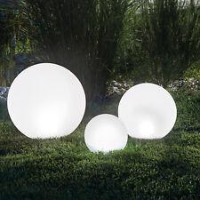 Für Balkon Terrasse Garten Beet Erdspieß Verbraucher Zuerst Decken- & Wandleuchten Preiswert Kaufen Solar Led Kugelleuchte Weiß 20cm Ip44 Beleuchtung