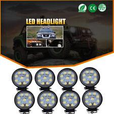 """8pcs 4"""" Flood Work LED  Light Bar John Deere 9400 9500 9600  430 435 Tractor 12V"""