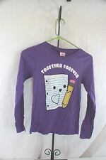 Shirt Long Sleeve T Shirt  Purple Hybrid Tees SZ M Medium   NEW NWT