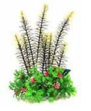 Aqua One A1-24065 Plastic Planter Mixed Plants on Rock Green/Red 19x16x28cm