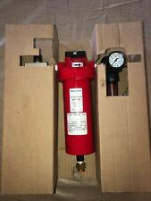 PerkinElmer N0775325 Air Filter Assembly W/Regulator & Gauge & SMC Speed Control