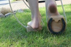 Shaddy Pferdehufe mit Hufkratzer für authentisches Hufgeklapper