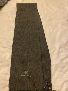 Alpaca Wool Grey Scarf Camargo Excellent Condition