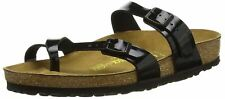 Birkenstock Mayari Black Patent Womens Synthetic Leather Sandals Shoes