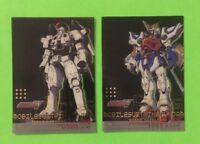 2000 Upper Deck Bandai Mobile Suit Wing Gundam Clear Insert 2 Card Lot TallGeese