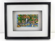 Charles Fazzino Limited Edition That Santa Barbara Weekend 3D POP ART VERY GOOD