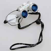 New 1*Dental Surgical Loupes Glasses Medical Binocular Magnifier 3.5X 420mm