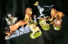 NEW DISNEY LION KING Christmas Ornament Set Rafiki Shenzi Pumba Timon Simba Zazu