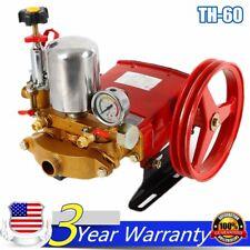 Th-60 Triplex Plunger Pump Agricultural Motor Sprayer Pump Us Stock