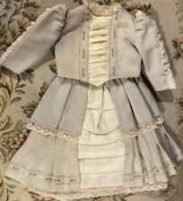 "Gorgeous Frenchy Outfit Lined w/Undies For 15-16"" French or German Bisque Doll"