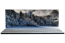 Diorama Route enneigée | Snowy road - 1/43ème - #43-2-D-D-028