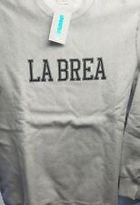 undefeated la brea sweater grey large undftd