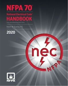 NFPA 70, National Electrical Code (NEC), 2020 (Hardcover) New