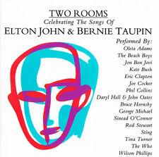 """V/A """"TWO ROOMS"""" 1991 16Trk CD *Elton John *George Michael *Sting *Jon Bon Jovi"""