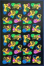 Vintage Stickers - American Greetings - Neon Sneakers - Awesome!!