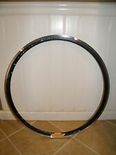 NEW VELOCITY DEEP V BLACK RIM: 32H, MSW, 700C, WHEEL, NO SPOKES OR HUB INCLUDED