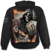 Spiral Direct ACE REAPER - Hoodie Biker/Death/Flames/Reaper/Metal/Rock/Hoody