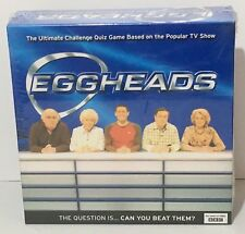'EGGHEADS' Board Game BBC Ultimate Challenge Quiz Game NEW & Sealed