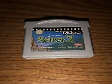 Gba Shrek 2 Nintendo Game Boy Advance Video *Tested*