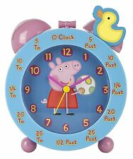 Peppa Pig Time Teacher Alarm Clock  *BRAND NEW*