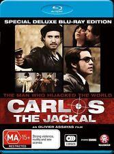 Carlos The Jackal - Trilogy + Movie (Blu-ray, 2011, 3-Disc Set) (Box D39)