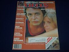 1978 MAY 25 CIRCUS MAGAZINE - PAUL & LINDA MCCARTNEY COVER - NICE PHOTOS - J 775
