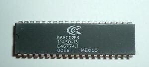 Conexant  / Rockwell R65C02P3 CPU Processor- 3Mhz - 65C02 - 6502 series