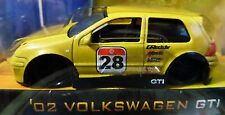 JADA 02 2002 VOLKSWAGEN VW GTI V DUBS RACE STYLE DETAILED COLLECTIBLE CAR YELLOW
