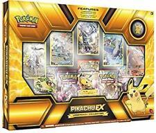 Pokemon Tcg tarjetas de colección legendaria Premium Pikachu ex Caja Nuevo Sellado