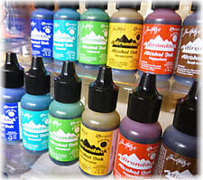 Tim Holtz Alcohol Ink 6 new Earthtone colors 2015 Conservatory & Mariner