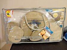 SARAH PEYTON WELLNESS ULTRA SOFT HOT AND COLD PERSONAL SPA SET W GEL INSERTS NEW