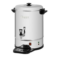 More details for swan 30 litre commercial catering tea urn coffee hot water boiler kitchen cafe