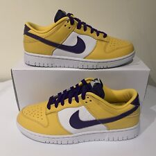 New listing Nike Dunk Low By You 365 ID Lakers Kobe Bryant Mens 9.5 AH7980-992 Purple Yellow