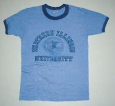 New listing Vtg 80s Northern Illinois University Ringer T-Shirt Huskies College 50/50 Usa Sm